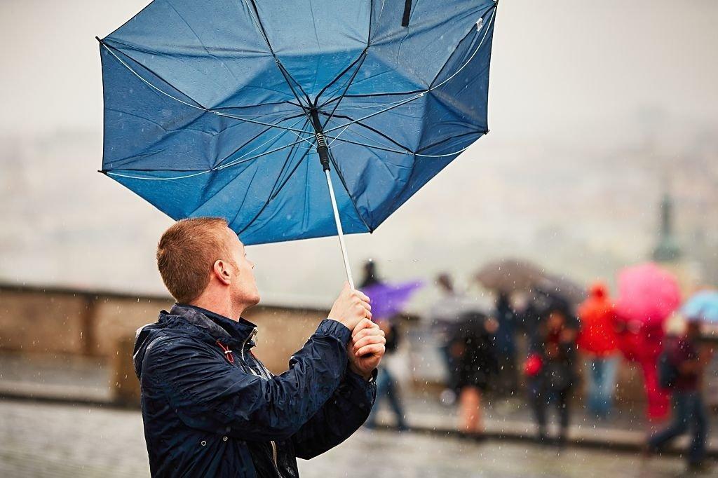 Rain And Wind