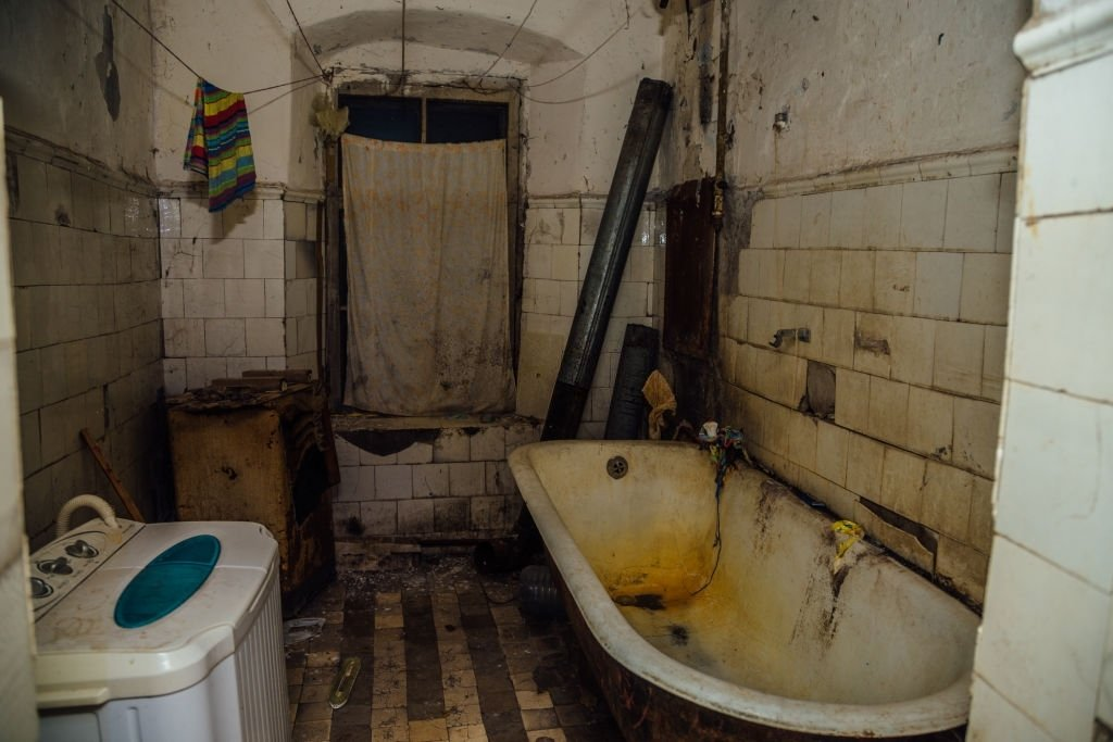 About Dirty Bathroom