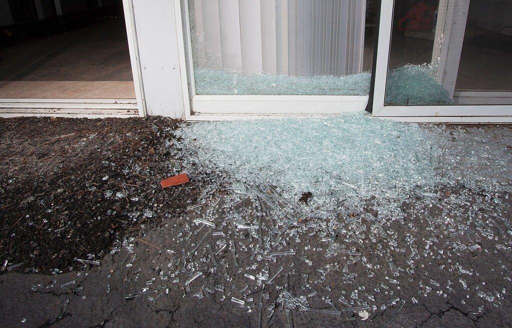 Many Broken Glass