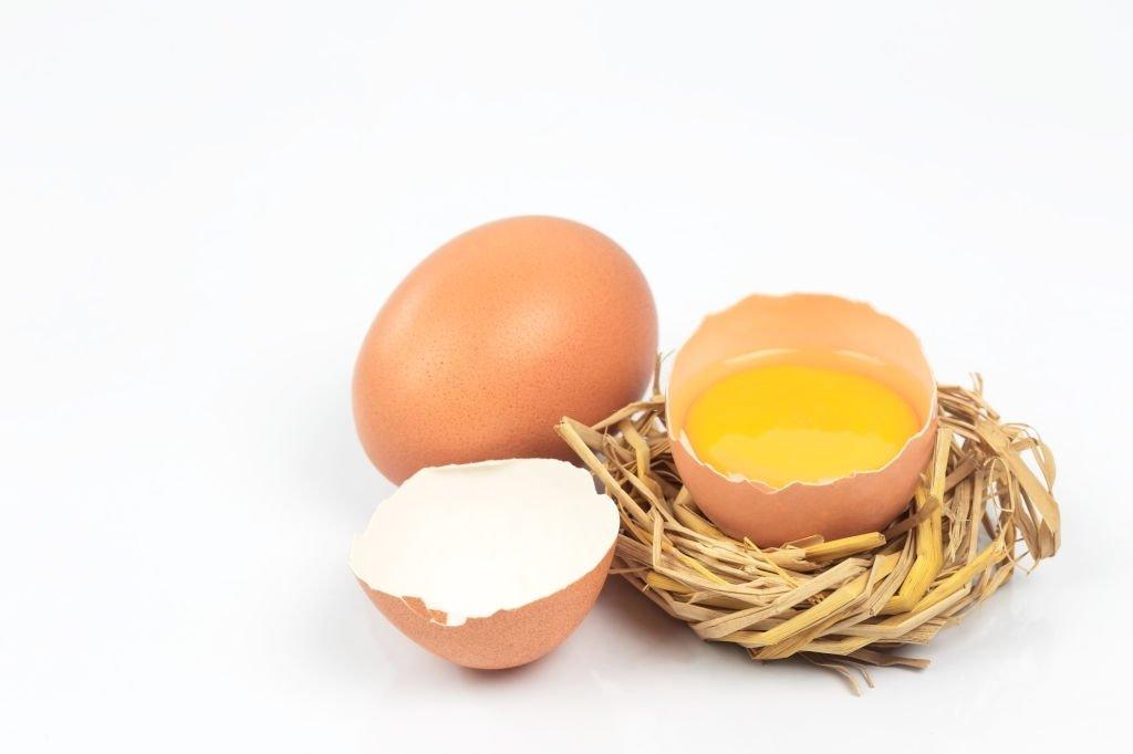 Red Broken Egg