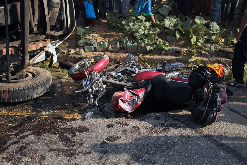 See A Motorcycle Accident