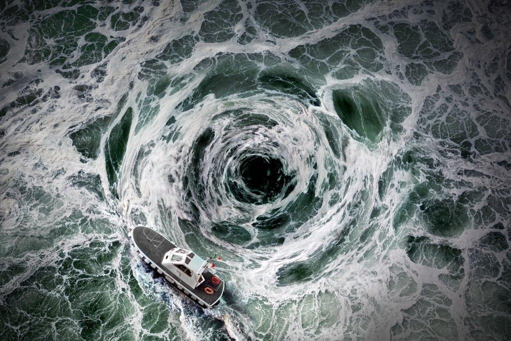 Swirl At Sea
