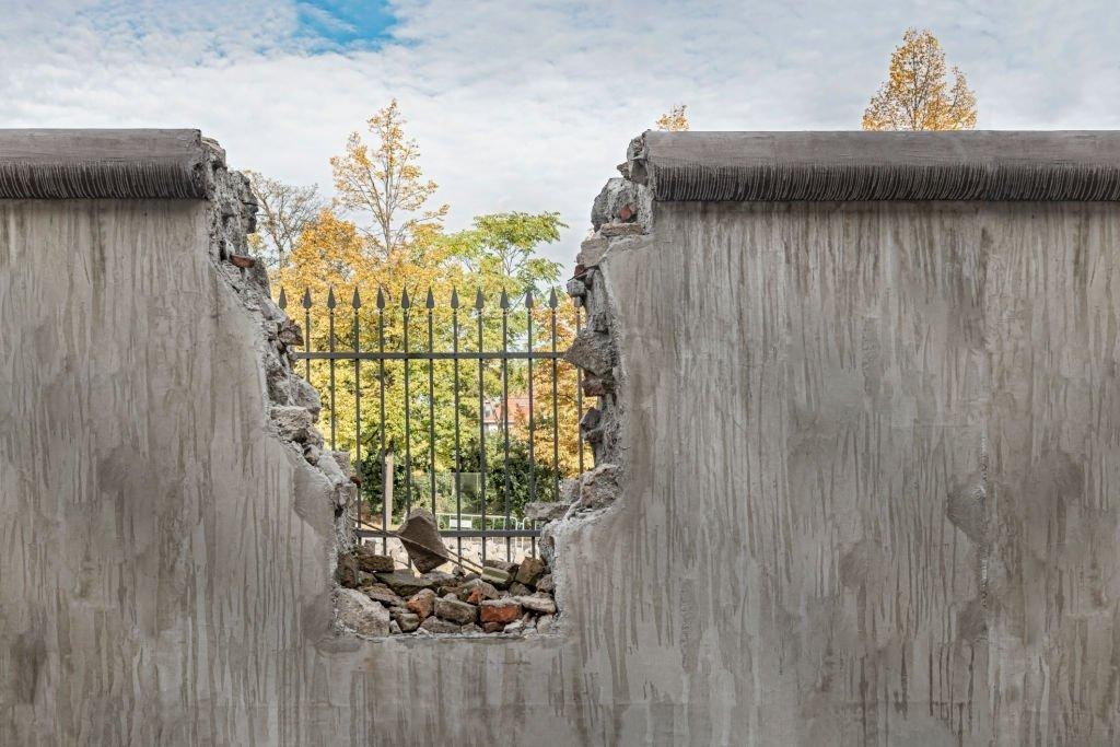 Wall Falling Apart