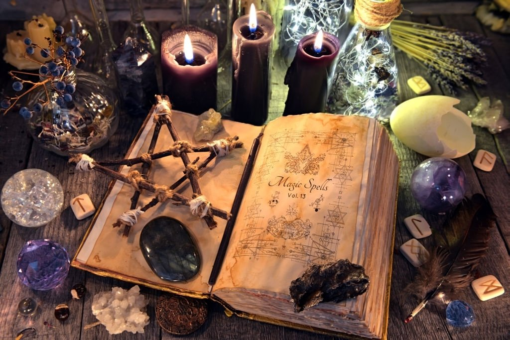 Witchcraft Or Witch Doing Spell