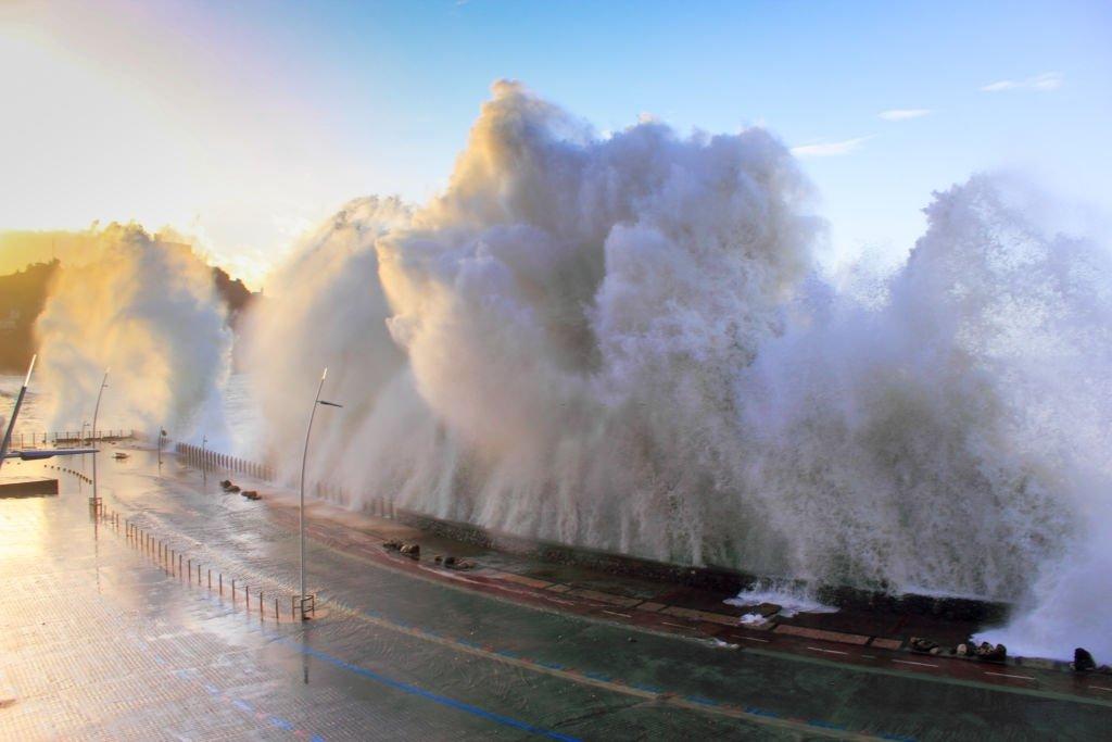 Achieved By A Tsunami