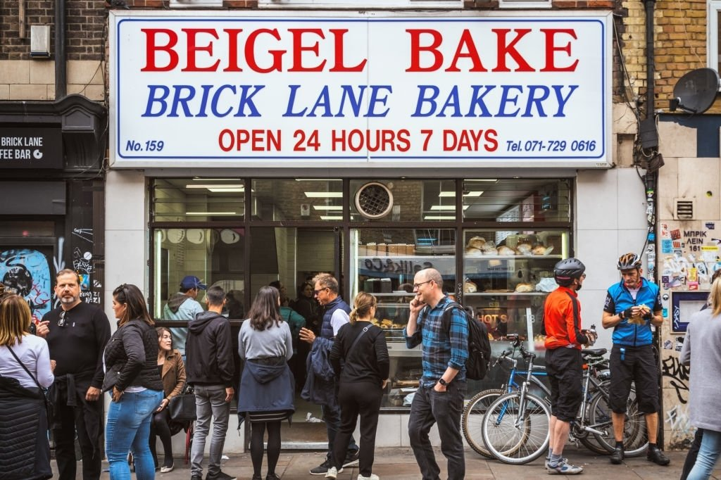 Bakery Full Of People