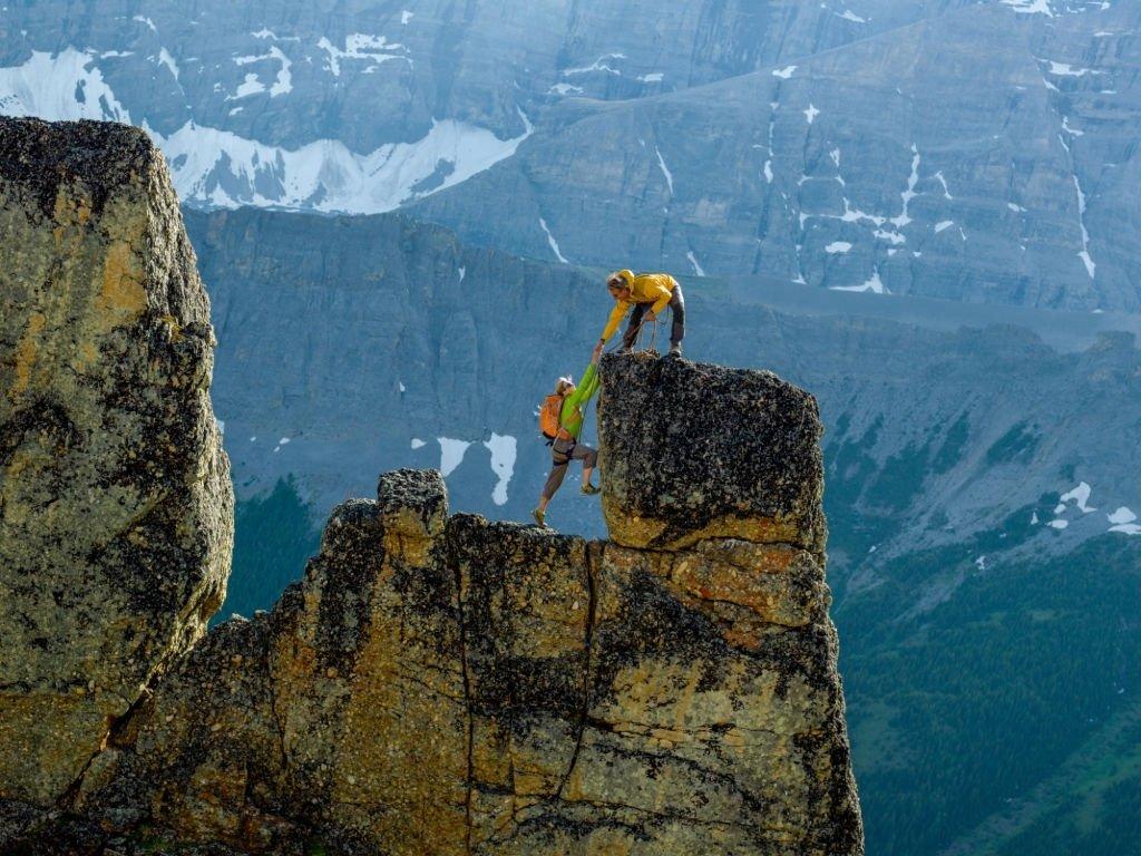 Climbs A Mountain
