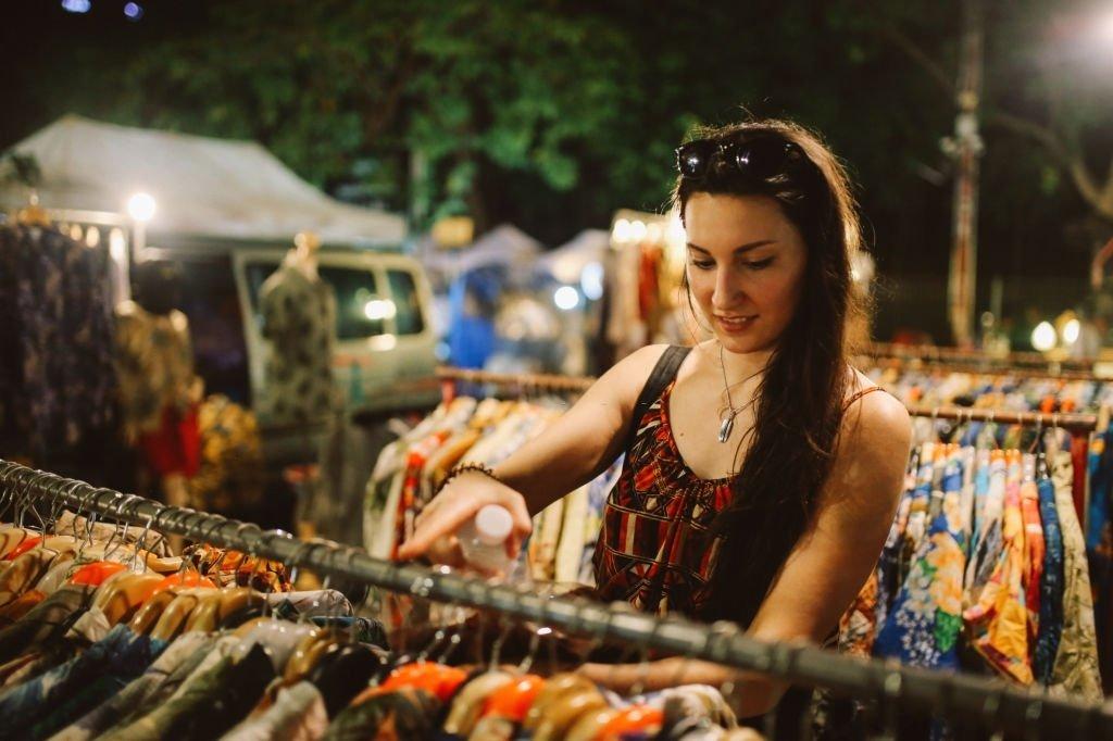 Clothing In Bazaar
