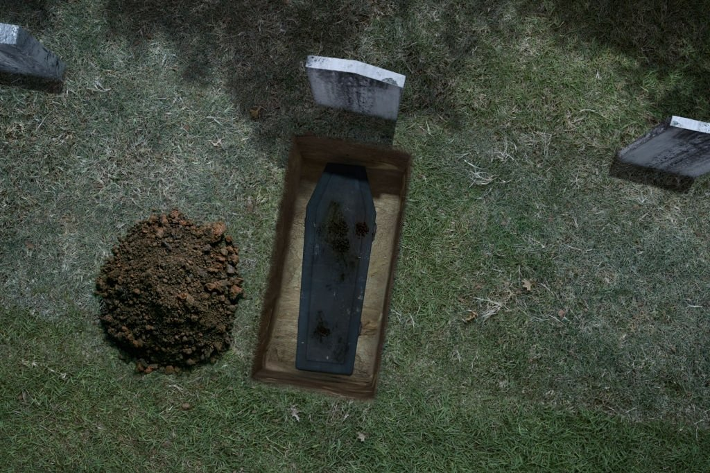 Deceased Being Buried