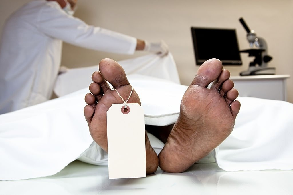 Deceased Going Through Autopsy