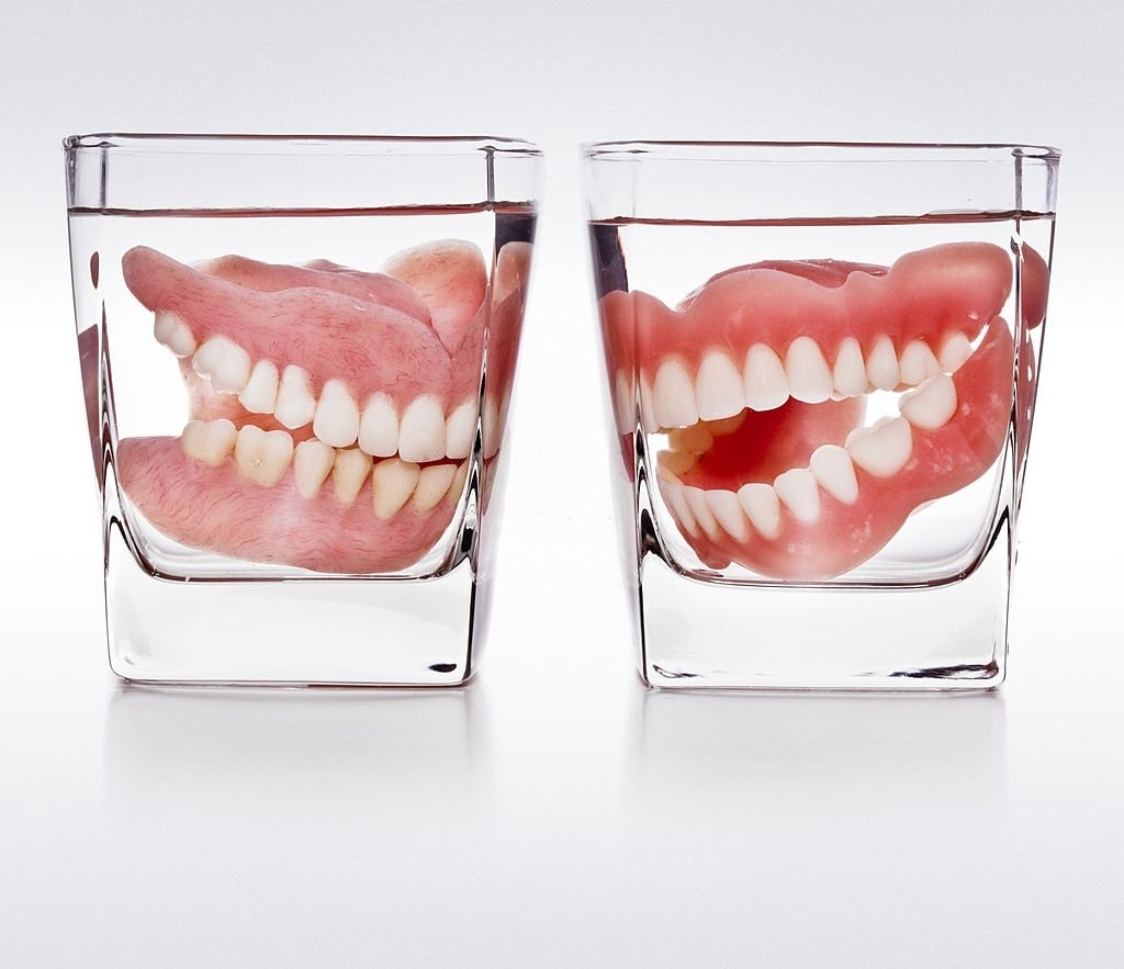 Dentures In The Cup