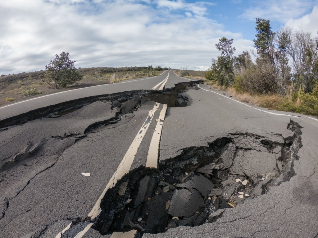 Earthquake In Ground
