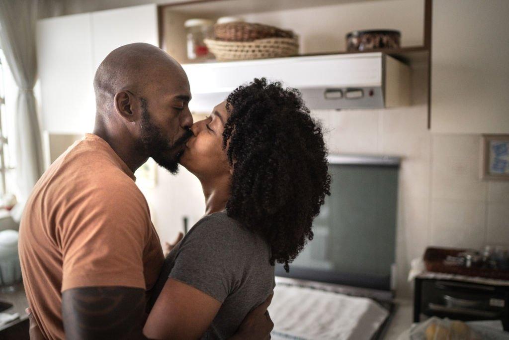 Ex-Husband Kissing