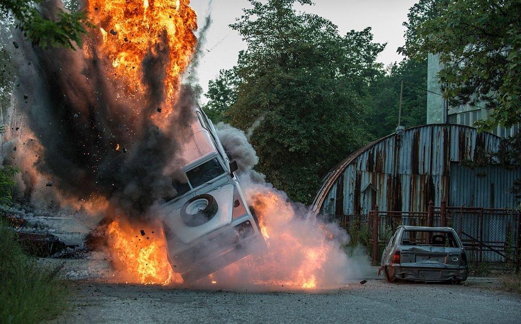 Exploding Vehicle