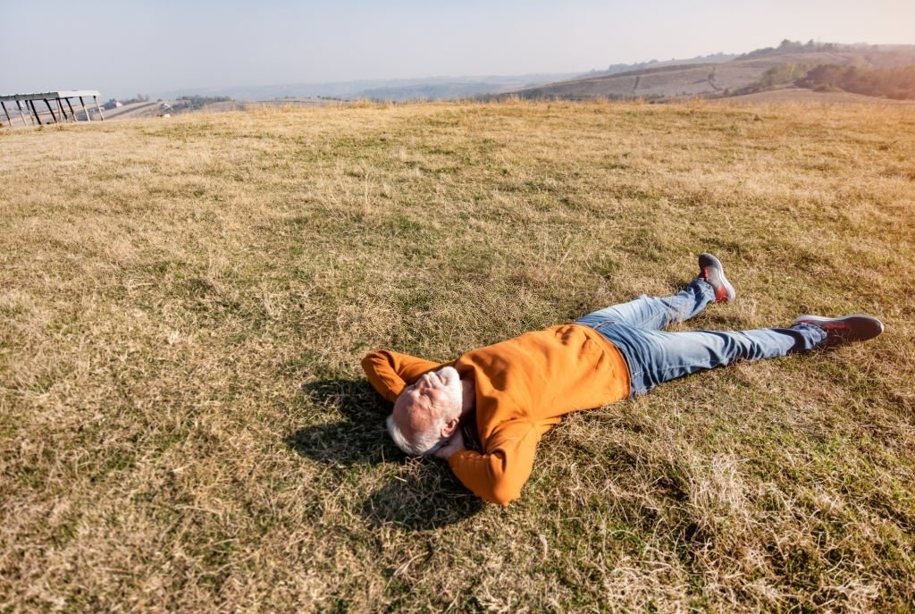 Lying On The Ground