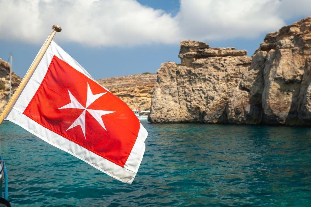 Malta Cross Symbol