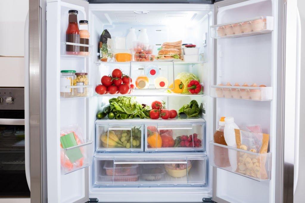 Opens A Refrigerator