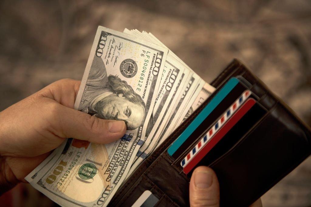 Paper Money In the Wallet