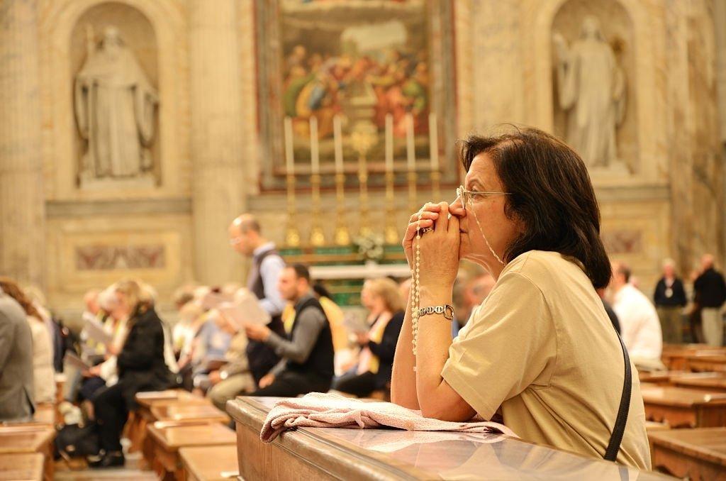 Praying At The Mass
