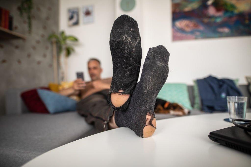 Ripped Sock