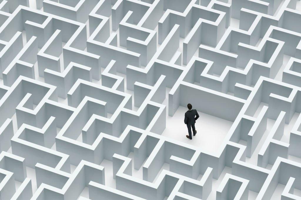 Stuck In A Maze