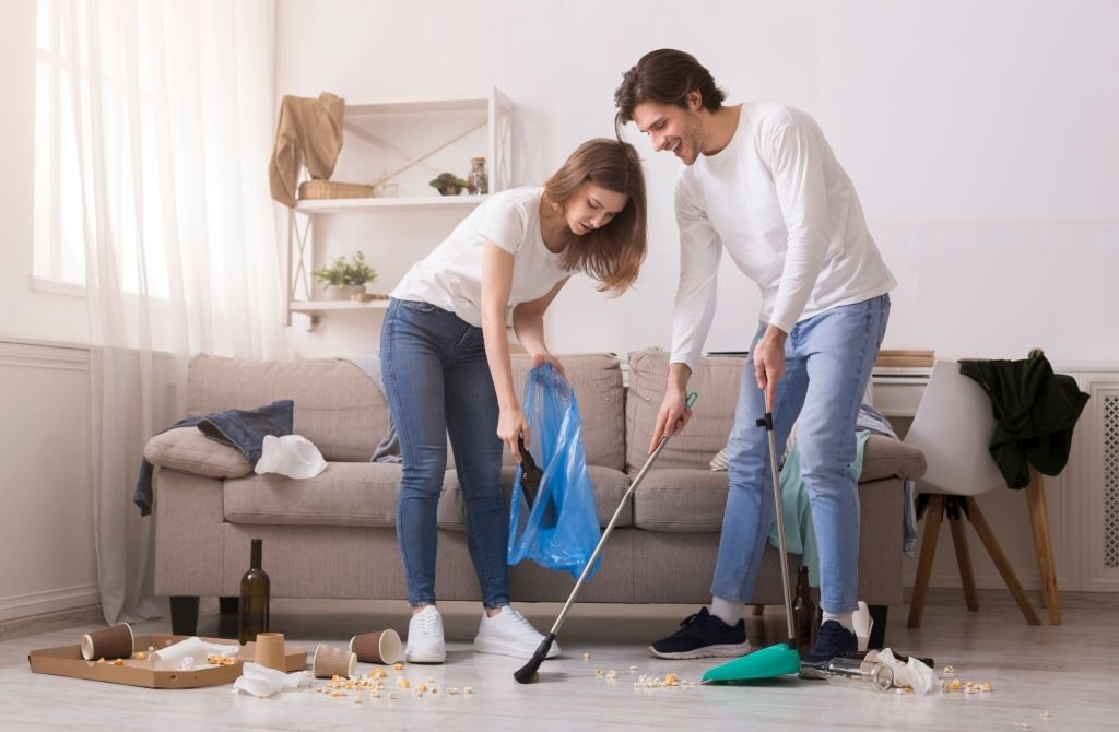 Tidy Up The Messy House