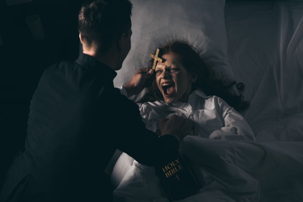 Woman Being Exorcised