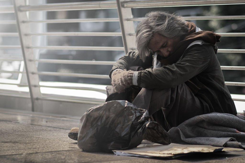 You See A Beggar
